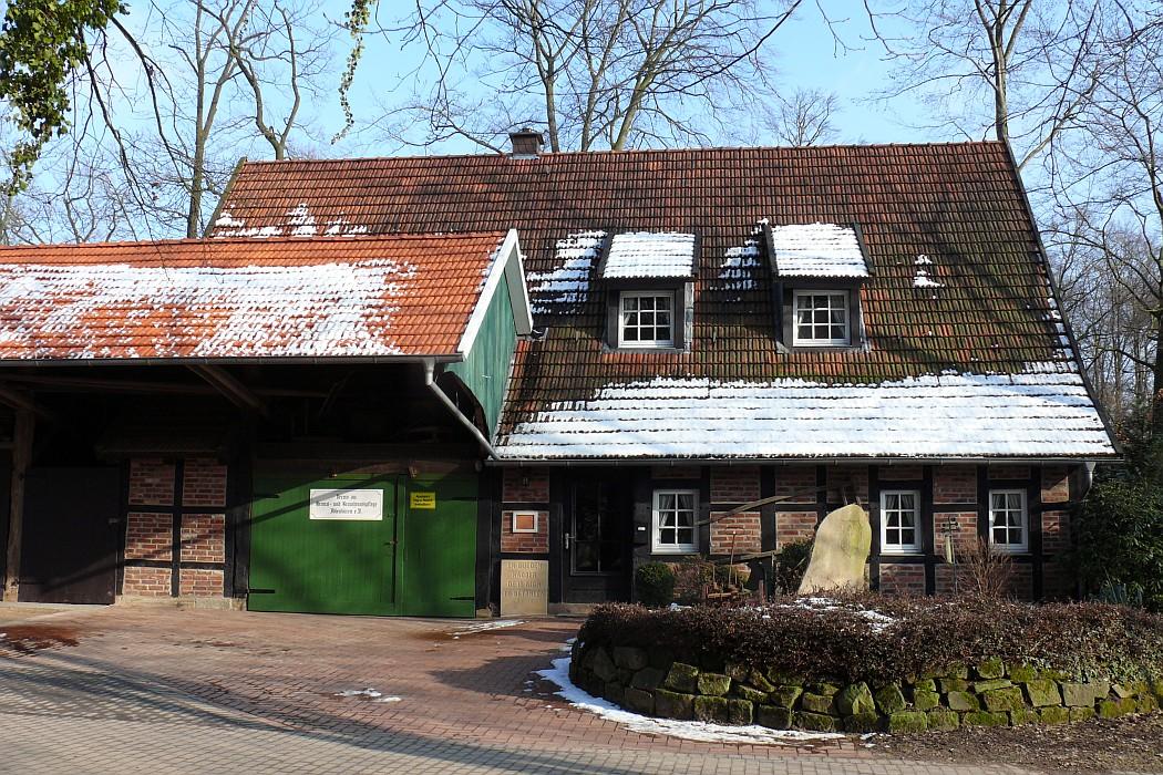Verein zur heimat und brauchtumspflege ibbenb ren e v for Fachwerkhaus zum abbauen
